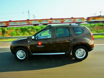 Dacia Duster pe drumuri de graniţă