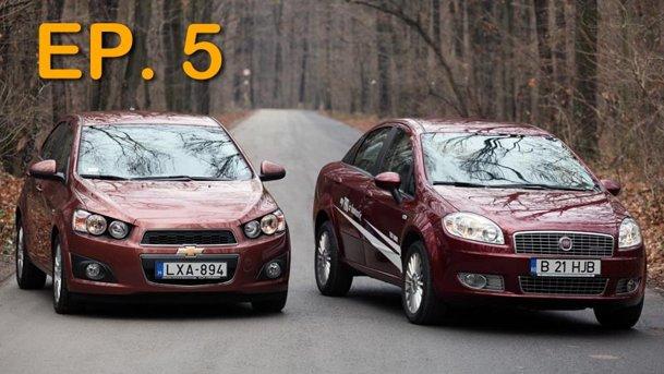 Ep. 5: la proape 15.000 euro, Aveo 1.6 automat sau Linea 1.6 MJet manual?