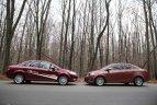 Fiat Linea e mai lung cu 16 cm, iar Chevrolet Aveo e mai înalt cu 2 cm.