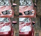 În cazul lui Aveo, oglinzile retrovizoare se rabat mai facil şi oferă o vizibilitate uşor mai bună