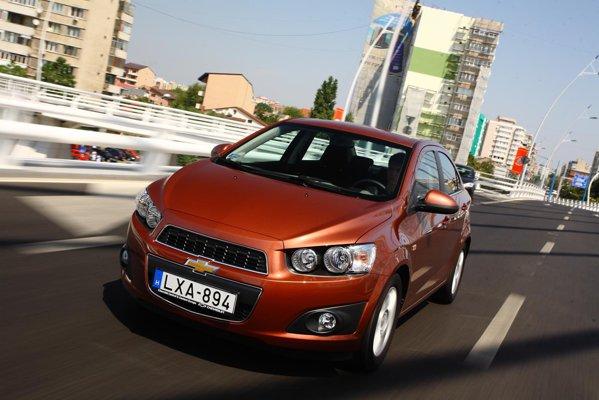Chevrolet Aveo Sedan 1.6 AT6 - in regim urban, consum de 12-12,5 litri/100 km