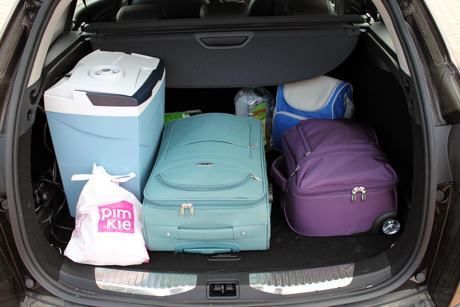 Portbagajul de 480 de litri al lui Megane Sport Tourer e perfect pentru necesitatile familiale