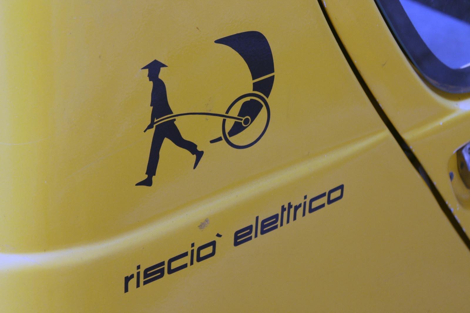 Ricsa electrica - o denumire hilara pentru acest vehicul electric