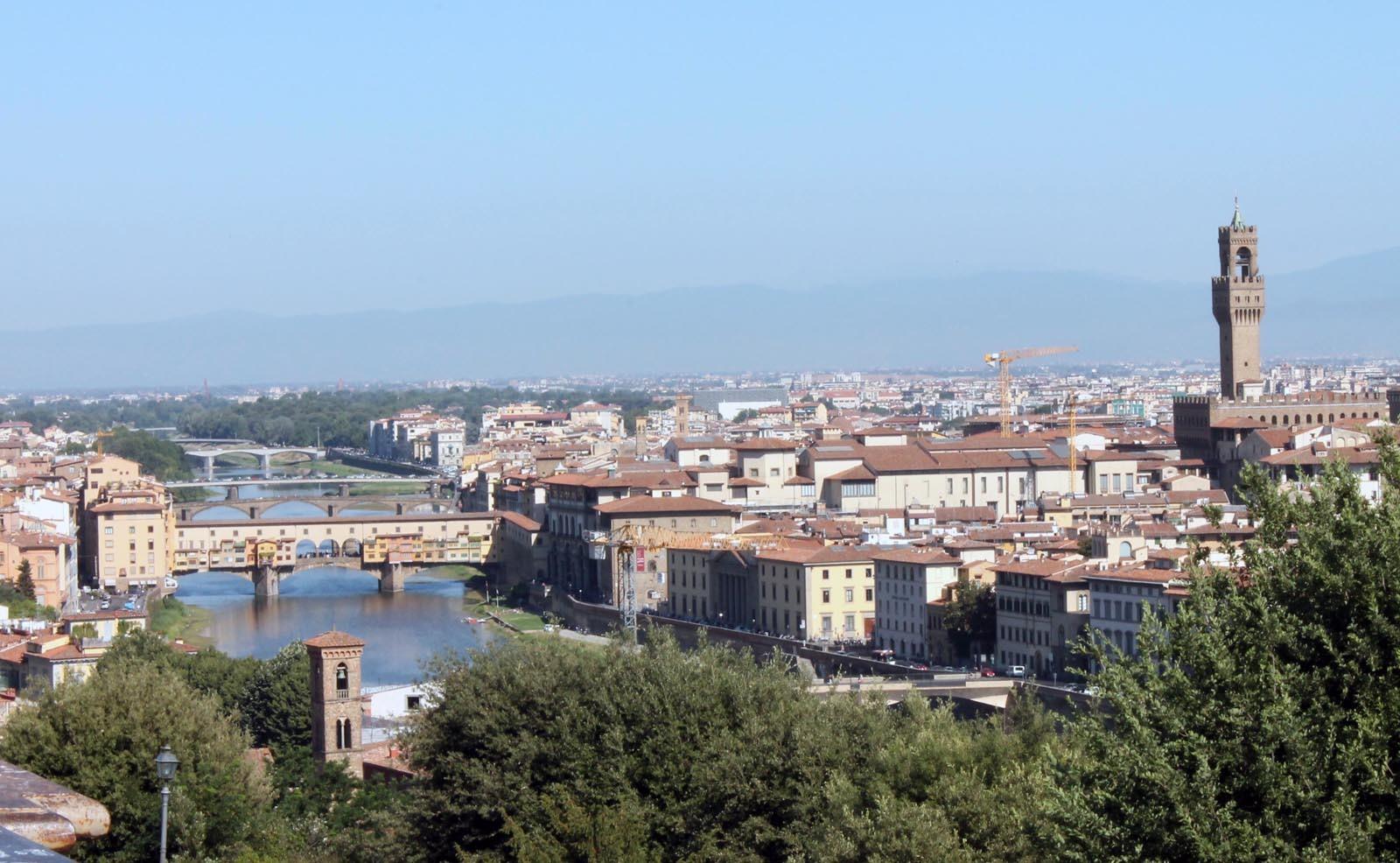 Florenta, centrul istoric, unde nu iti ajunge o zi de plimbare