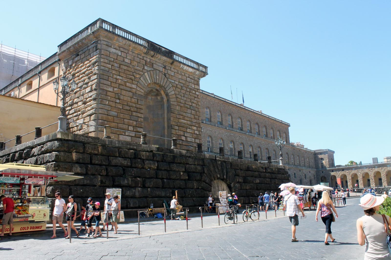 Palazzo Pitti - fara legatura cu Piteştiul...