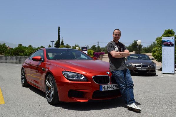 BMW M6 2013 on track