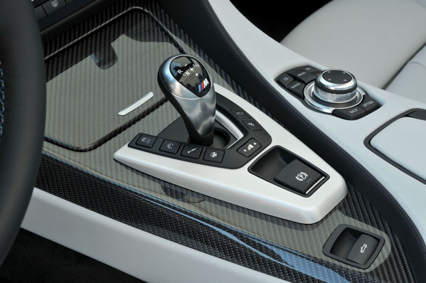 BMW M6 2013 interior