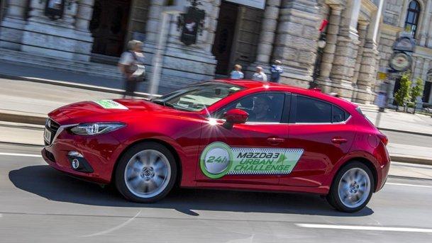 Test de consum de 24 de ore. Sau cum NU am câştigat Mazda3 Urban Challenge