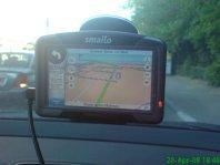 GPS Smailo - test în Bucureşti