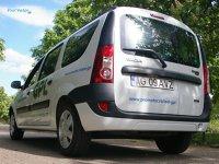 Dacia Logan MCV GPL - dimensiuni mari