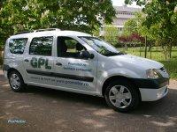 Dacia Logan MCV GPL - motor obişnuit