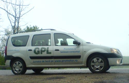 Dacia Logan MCV GPL - prima zi de drum