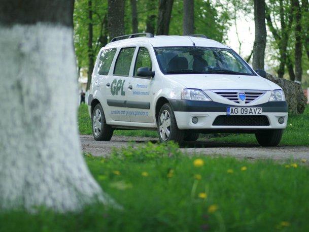 Dacia Logan MCV GPL - a doua etapă