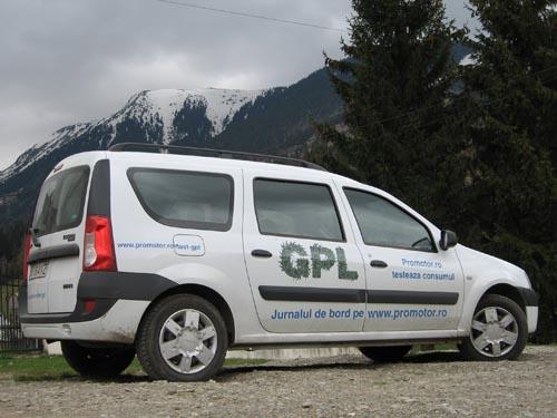 Dacia Logan MCV GPL - ultima etapă