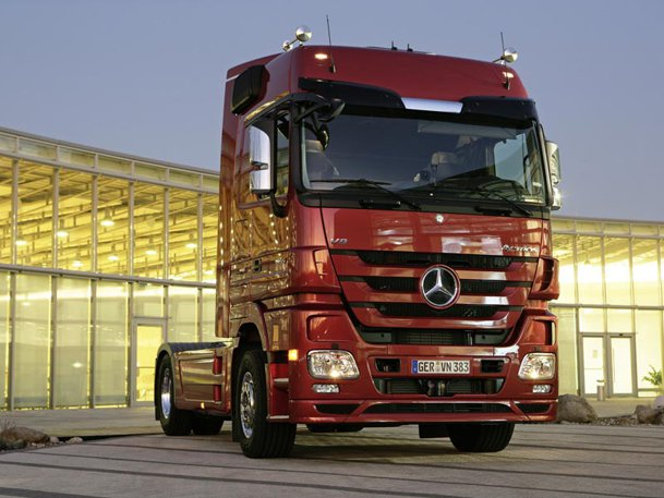Mercedes Actros - test in premieră