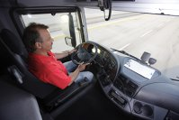 Mercedes Actros - post de conducere