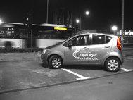 Opel Agila - prima noapte împreună