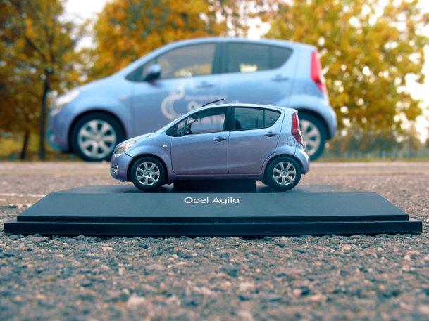 Opel Agila - povestea continuă