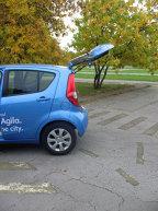 Opel Agila - zi în parc