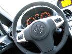 Comenzi pe volan şi ceasuri lizibile şi sigla ecoflex pe cadranul din stînga