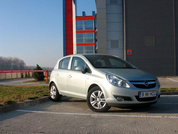 Opel Corsa ecoflex - Test de consum