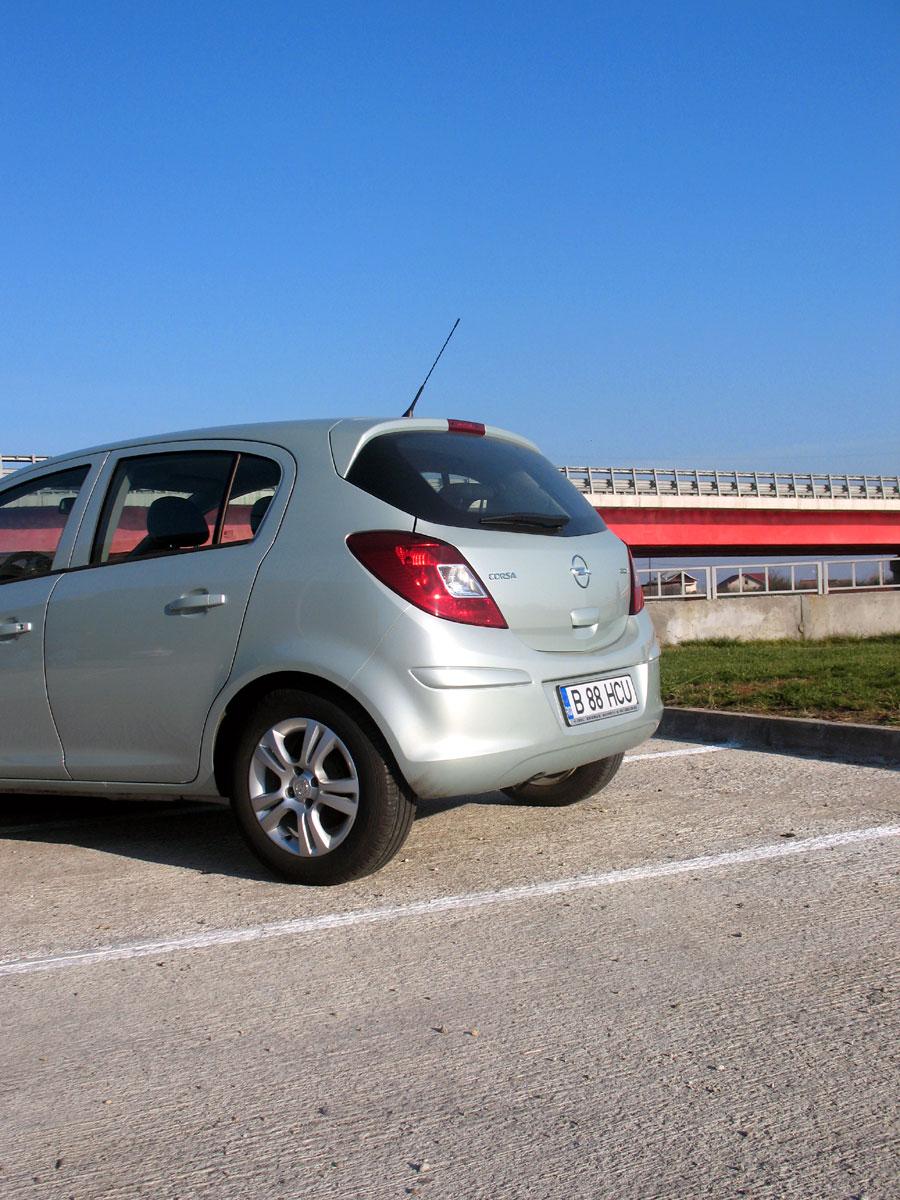 Opel Corsa un model simpatic şi acum şi economic