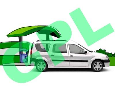 Dacia Logan MCV GPL - test de consum