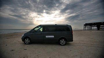 Cu Mercedes-Benz Viano la mare şi la munte