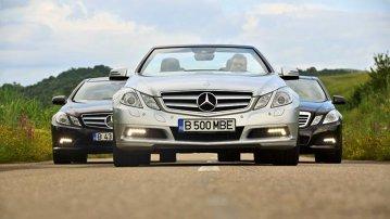Am testat ultimele modele Mercedes-Benz E 500 V8 5.5 litri