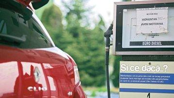 Test de consum cu Renault Clio Yahoo