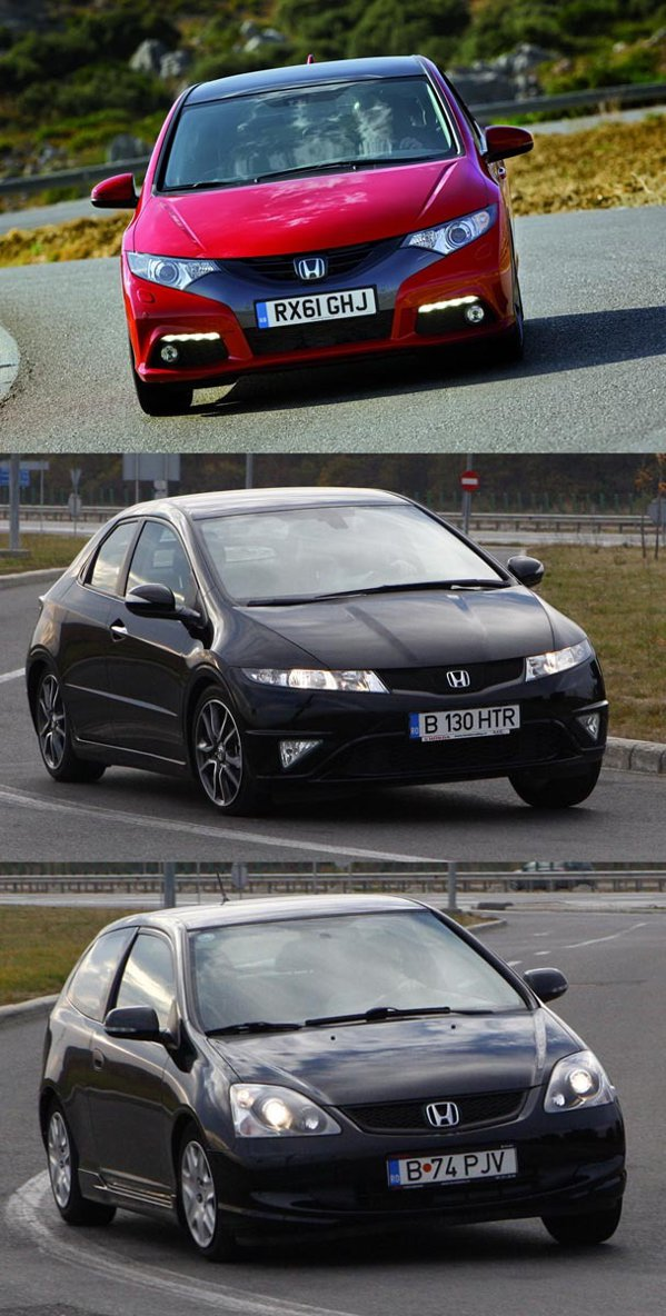 In versiunea de top 1.8 GT A/T, Civic-ul actual costa la oferta 14.980 euro fara TVA (18.575 euro TVA inclus)