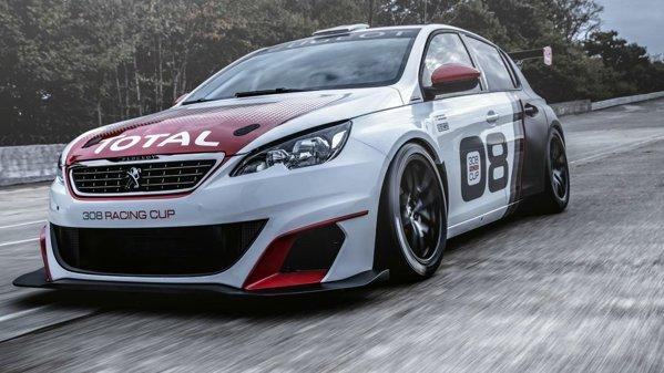 Peugeot îşi prezintă noua jucărie de circuit, 308 Racing Cup