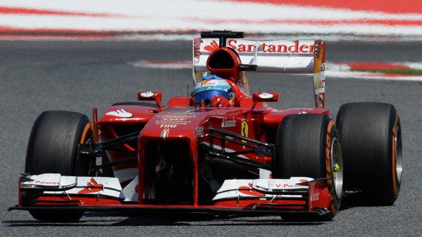 Fernando Alonso a câştigat Marele Premiu de Formula 1 al Spaniei