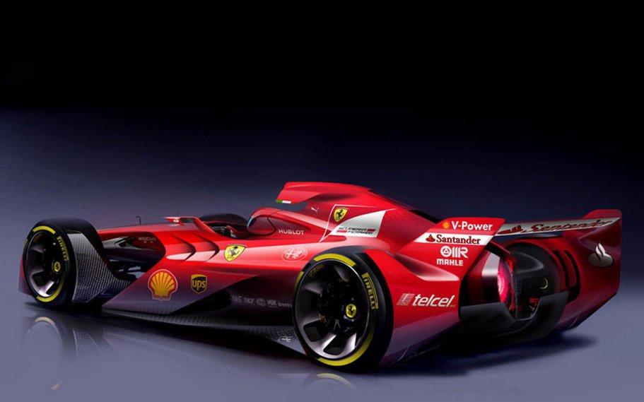 Ferrari Design Formula 1 Concept ne arată viitorul Formulei 1. Şi acesta e teribil de sexy