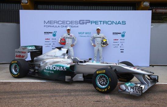 MercedesGP W02