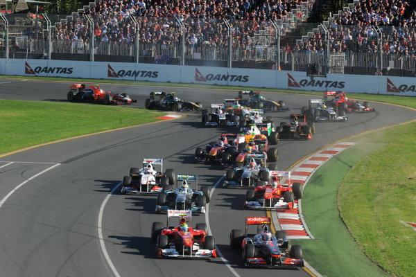 Start în Marele Premiu al Australiei