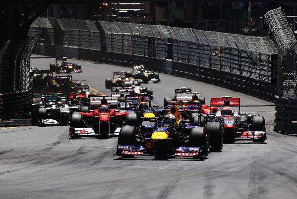 Start în Marele Premiu al Principatului Monaco 2011