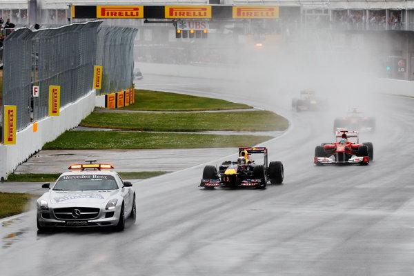 Ploaia a stricat Marele Premiu al Canadei