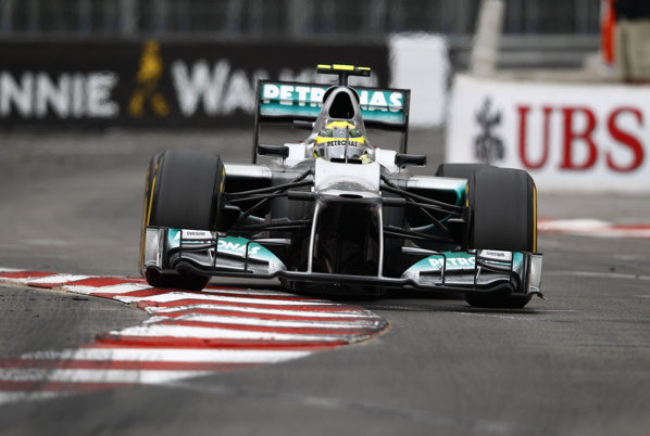 Nico Rosberg a obţinut un rezultat foarte bun la Monaco