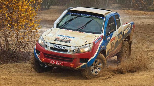 Isuzu va participa la Dakar 2013 cu D-Max