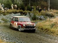 MINI a concurat în raliuri în anii '60