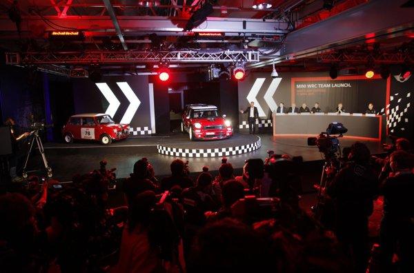 Noul MINI WRC a fost prezentat oficial la Oxford