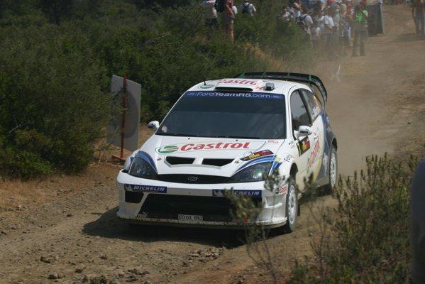 Markko Martin în Raliul Ciprului în 2004