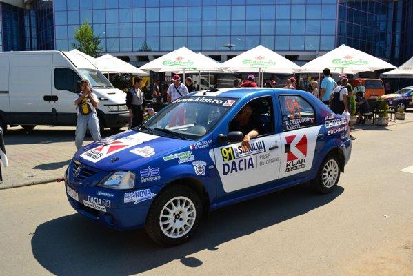 Francois Delecour - Dacia Logan