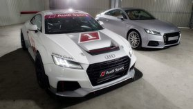 Audi Sport TT: mai multă putere, mai puţine kilograme. Exclusiv pentru circuit