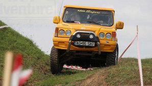 Un ARO 10 a făcut spectacol la una dintre cele mai dificile competiţii de off-road din ţară