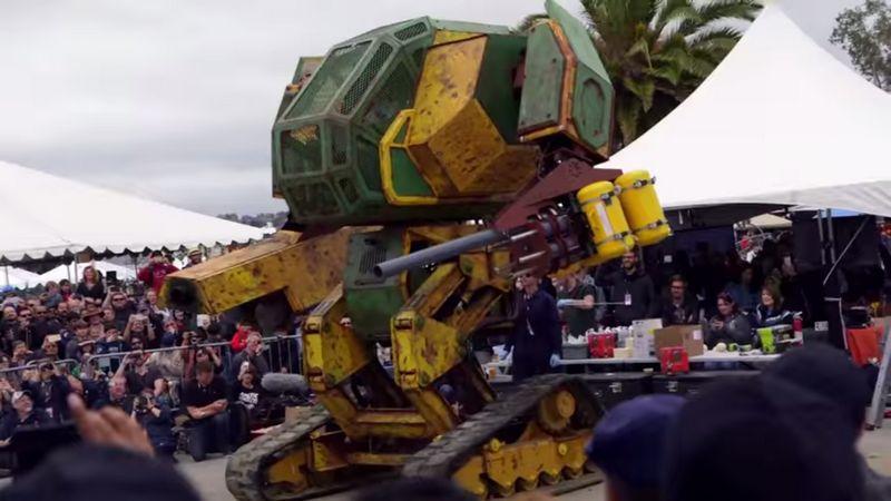 MegaBots! NASA se alătură creării unui nou sport: luptele cu roboţi uriaşi! VIDEO