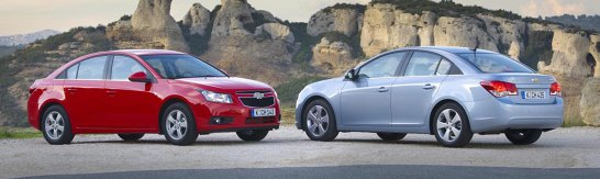 Chevrolet Cruze costa de la 9.499 euro cu TVA si prime de casare, intre 24 nov. si 24 dec.