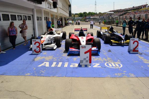 Cele mai bune trei monoposturi din cursa de duminică de AutoGP
