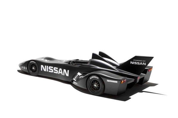 Nissan DeltaWing promite o masa si un coeficient aerodinamic la jumatate fata de masinile de curse conventionale